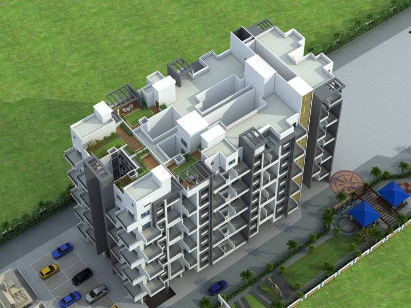 Images for Elevation of Kamalraj Parijat B Building