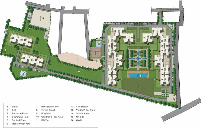Images for Master Plan of Sobha Royal Pavilion Phase 5 Wing 8 And 9