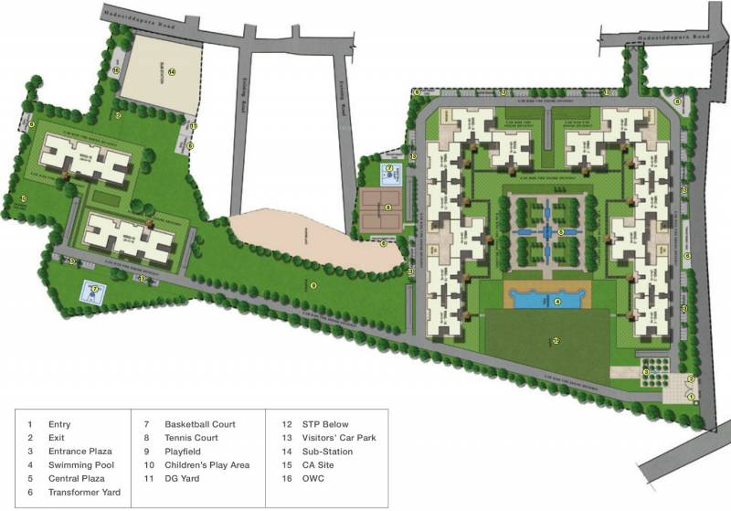 Images for Layout Plan of Sobha Royal Pavilion Phase 2 Wing 4 And 5