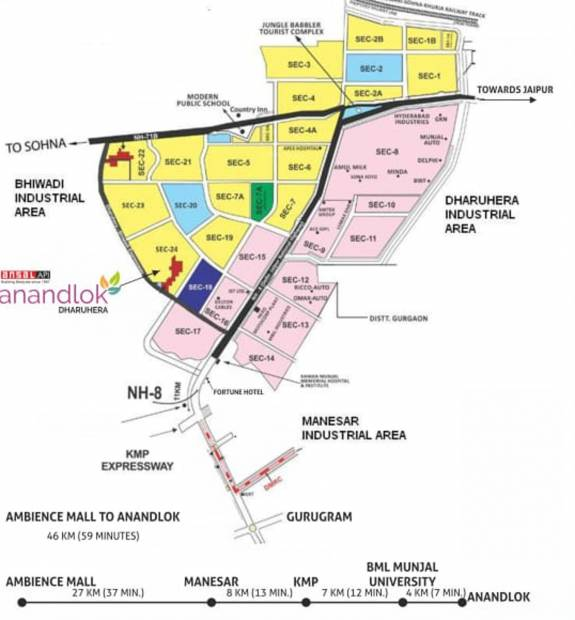 Images for Location Plan of Ansal Anand Lok