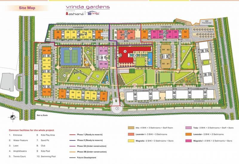 Images for Layout Plan of Ashiana Vrinda Gardens