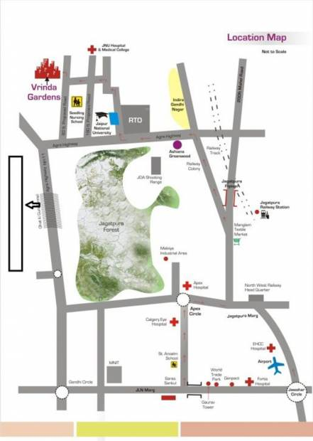 Images for Location Plan of Ashiana Vrinda Gardens