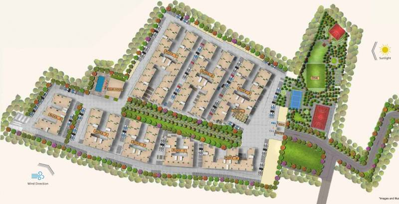 Images for Master Plan of Urbanrise Code Name Million Carats