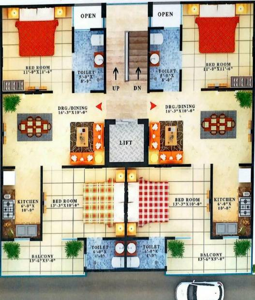 Images for Cluster Plan of USB Vihaan Group Housing