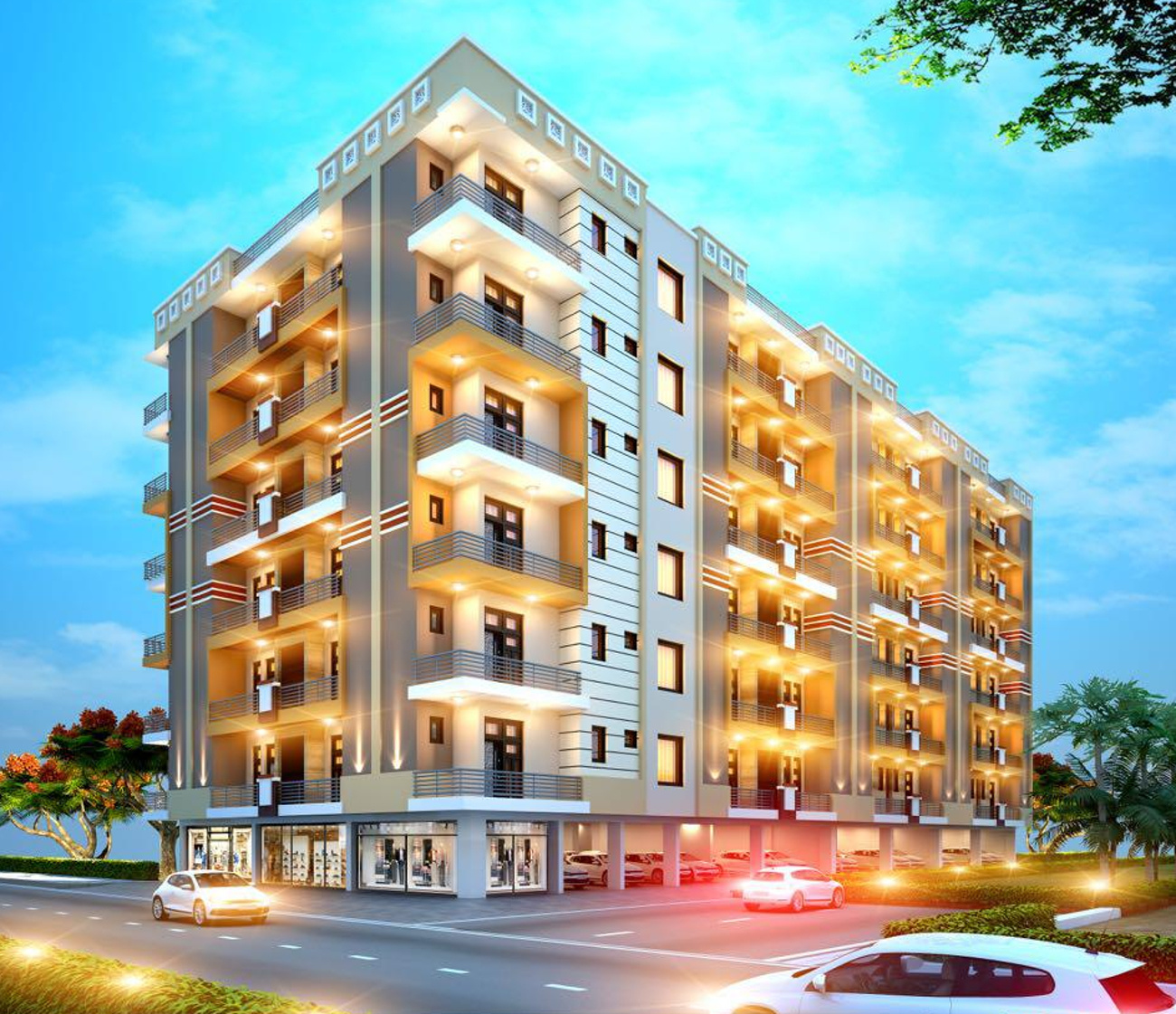 Low Cost Apartment: 620 Sq Ft 1 BHK 1T Apartment For Sale In USB Constructions