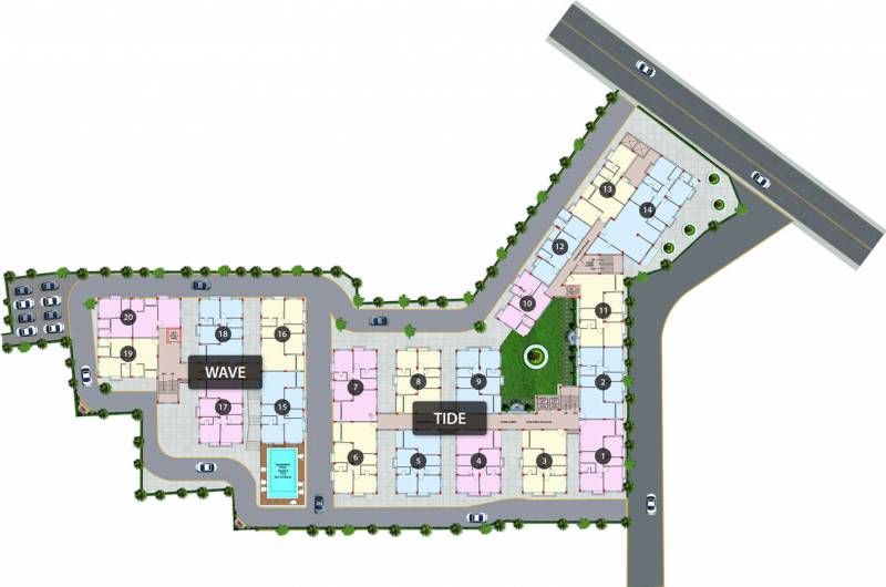 Images for Master Plan of Purti Aqua 2
