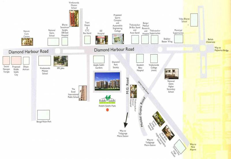 park Images for Location Plan of Riddhi Siddhi Park