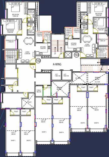 Images for Cluster Plan of Gulmohar Notting Hill Phase II