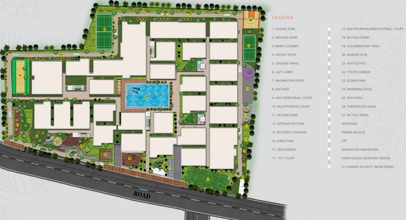 Images for Layout Plan of United Sai Arcade