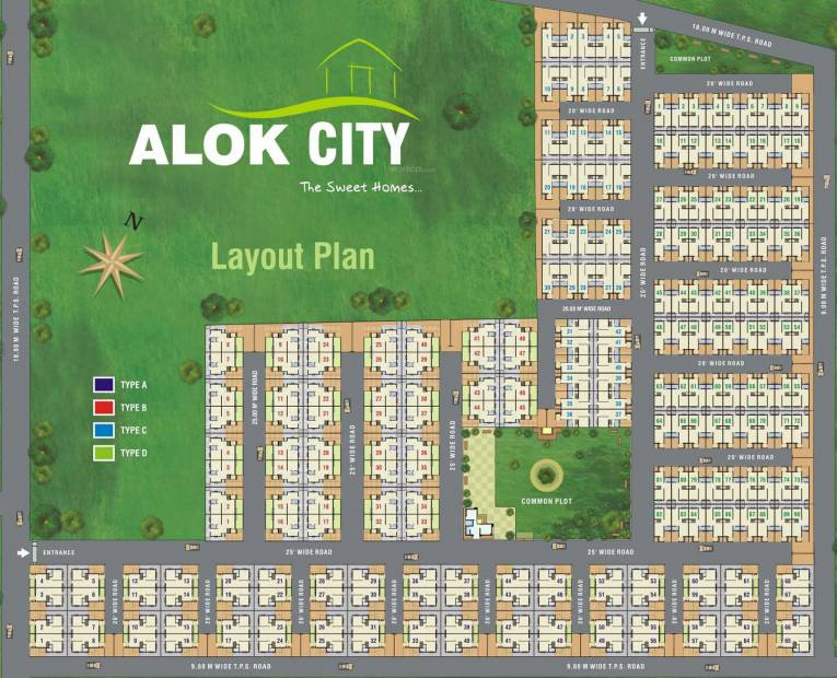 Images for Layout Plan of Hiramani Alok City
