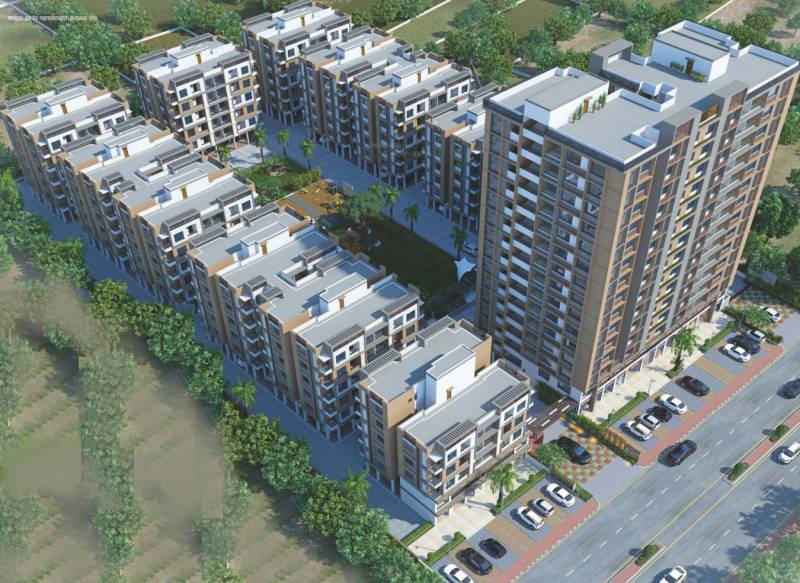 Images for Elevation of Shree Hari Shayona Aagman Phase II Block A And B