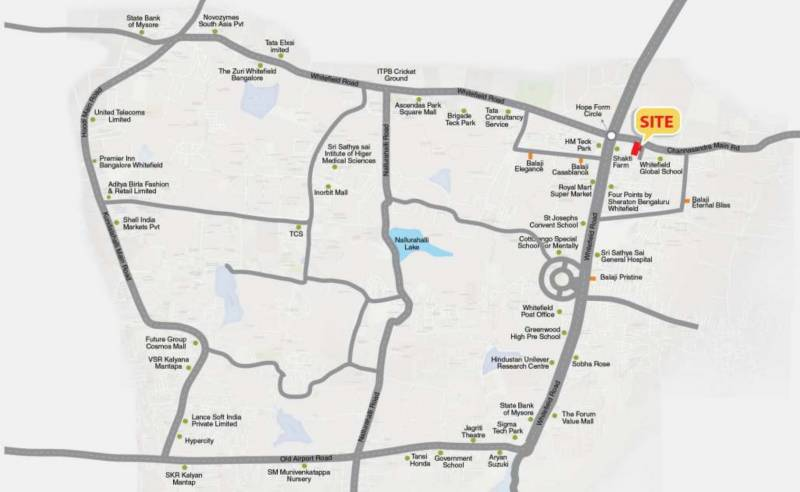 Images for Location Plan of Balaji Aavaas