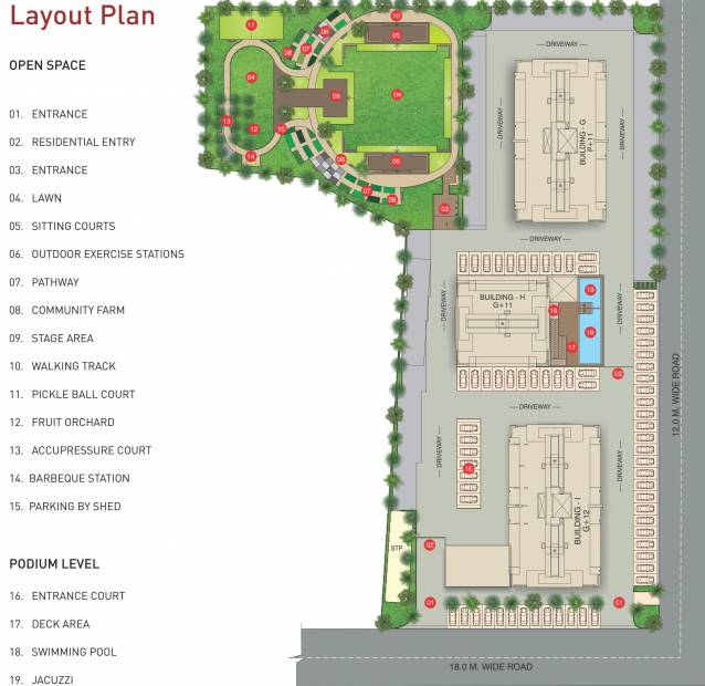 Images for Layout Plan of Rainbow Athashri At Pebbles