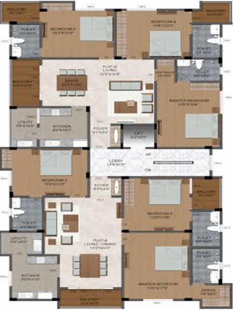 Images for Cluster Plan of Sumanth Sreshta