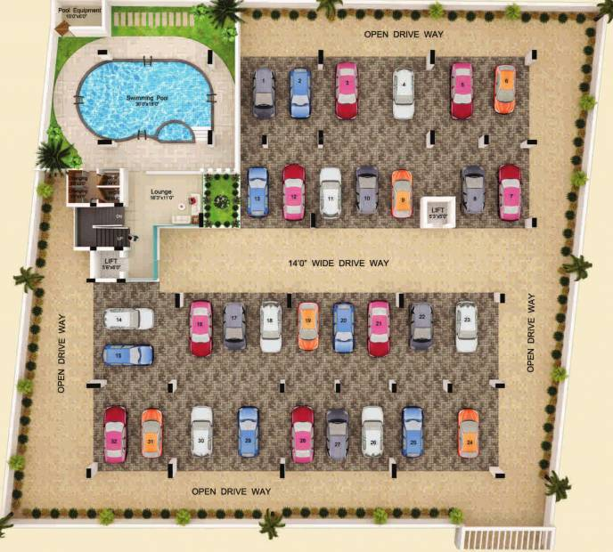 Images for Cluster Plan of Abhimanyu Dream Homes