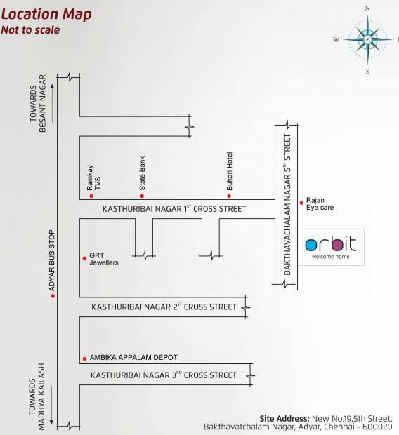 orbit Images for Location Plan of Celebrity Orbit