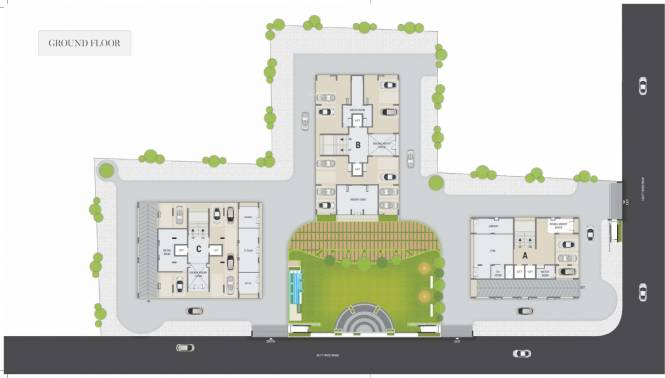 Images for Cluster Plan of Satyam Skyline II