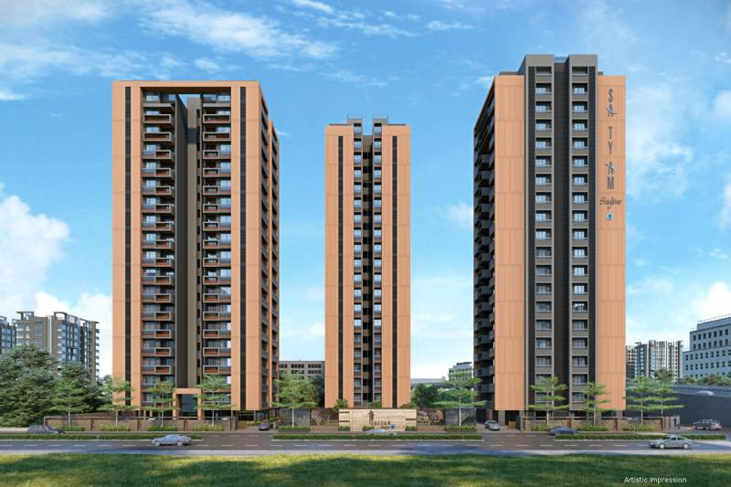Images for Elevation of Satyam Skyline II