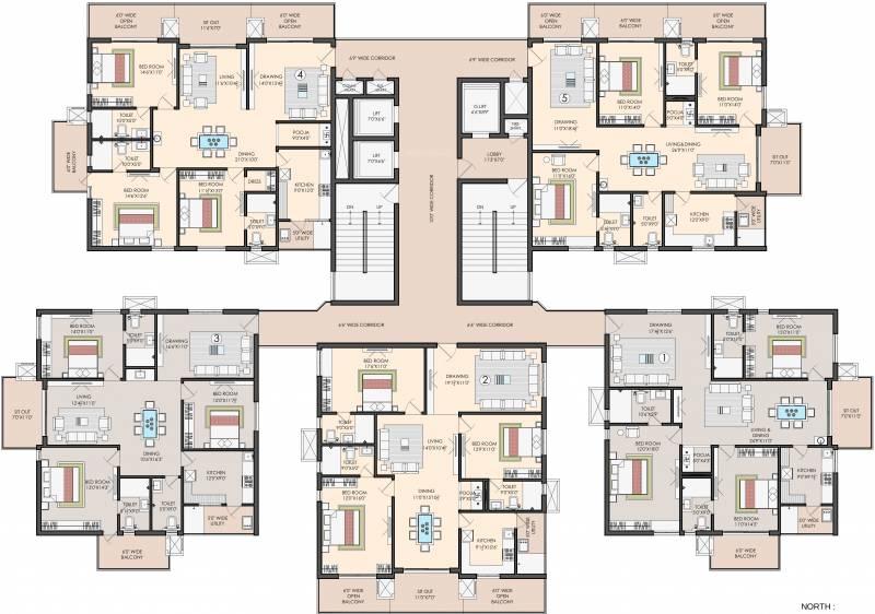Images for Cluster Plan of Sri Aditya Athena