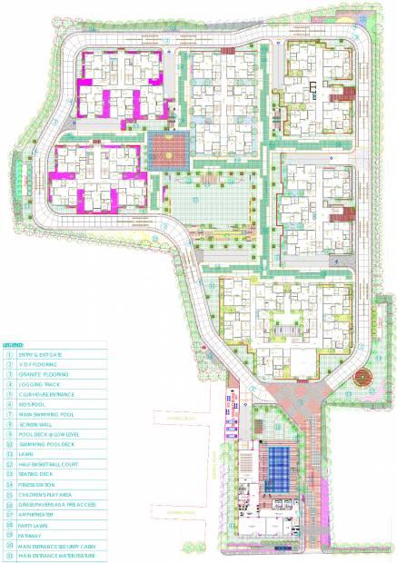 Images for Layout Plan of Sri Aditya Athena