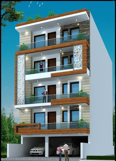 Images for Elevation of Lord Krishna Royal Floors 1
