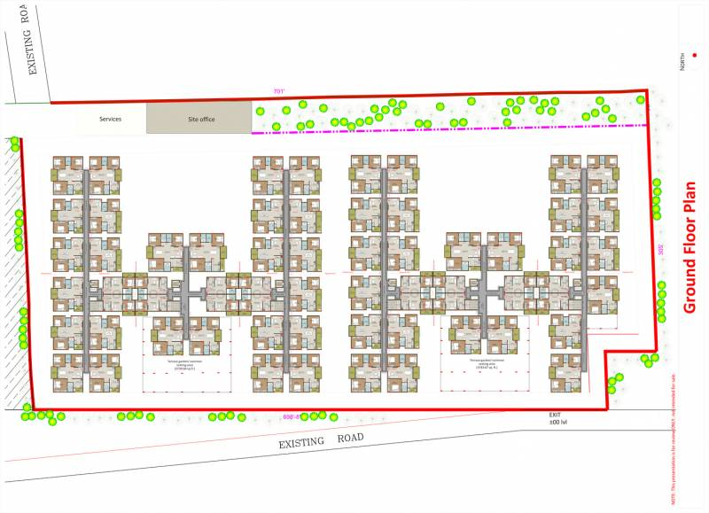 Images for Cluster Plan of Disha Courtyard