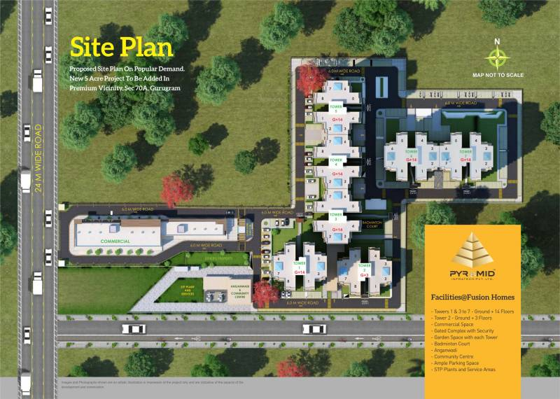 Images for Layout Plan of Pyramid Fusion Homes