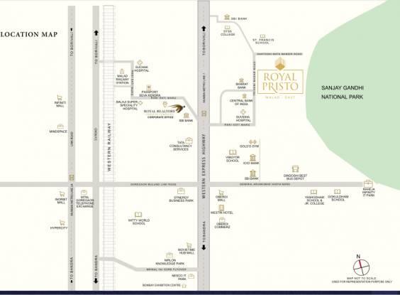 pristo Location Plan