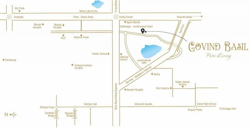 Images for Location Plan of Shree Sadguru Govind Basil