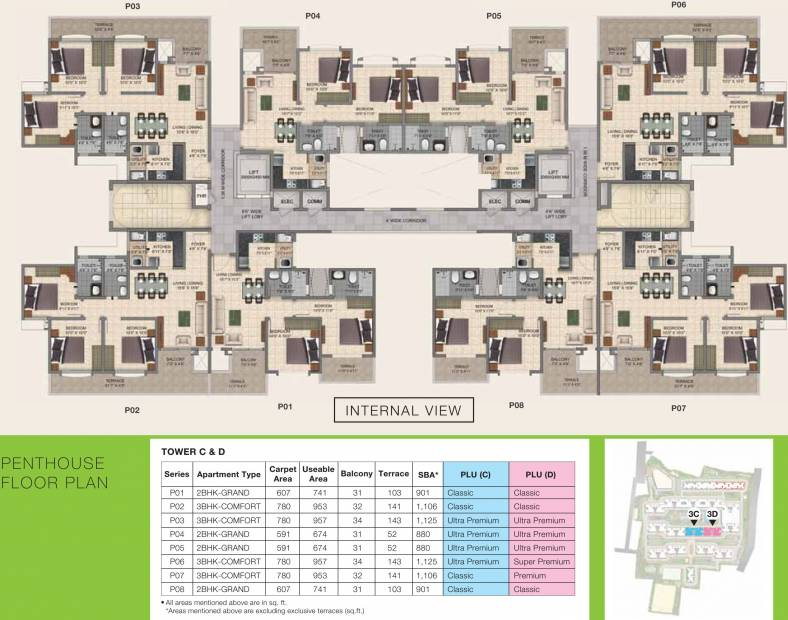 Images for Cluster Plan of Provident Park Square 4