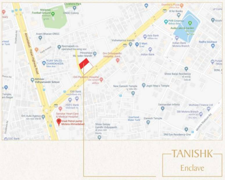 Images for Location Plan of LHP Tanishk Enclave