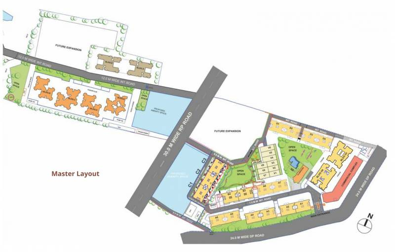 Images for Master Plan of Atul Westernhills D 5
