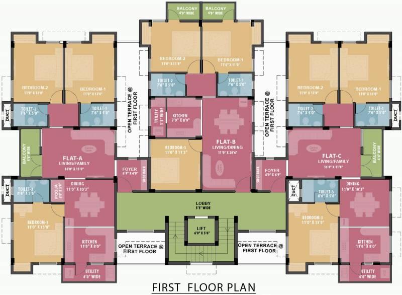 Images for Cluster Plan of Ramaniyam Mandhagini