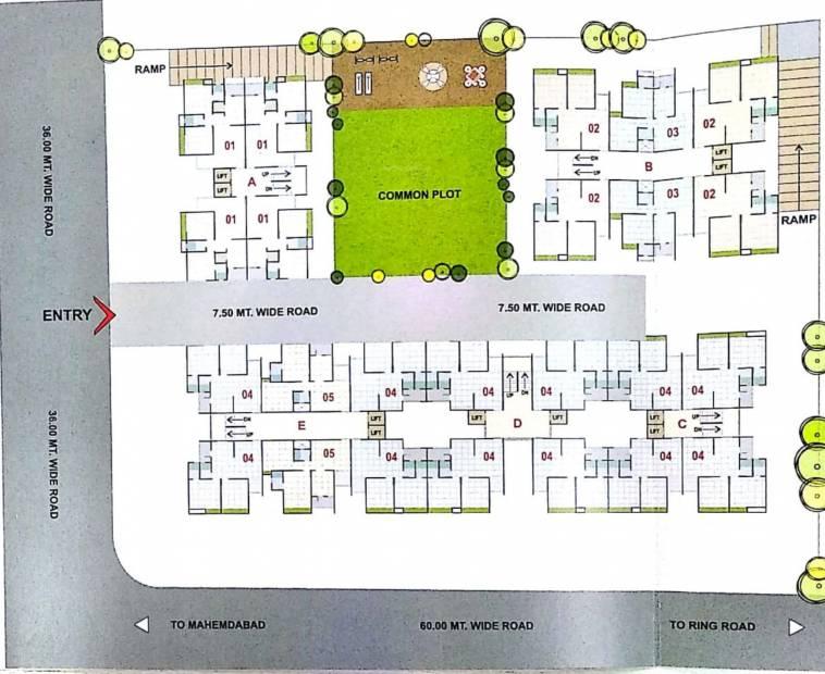 Images for Layout Plan of Shubhmilan Radhe Hills