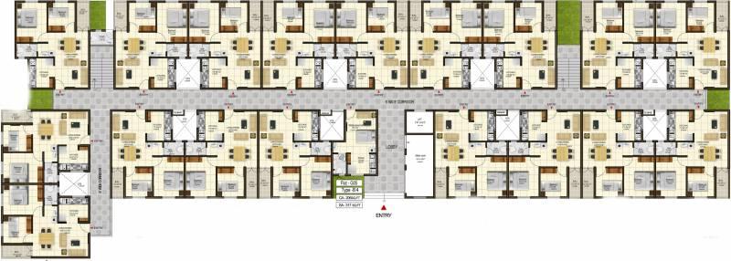 Images for Cluster Plan of XS En Veedu