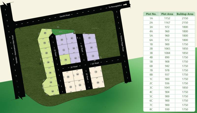 Images for Layout Plan of RR Gokulam