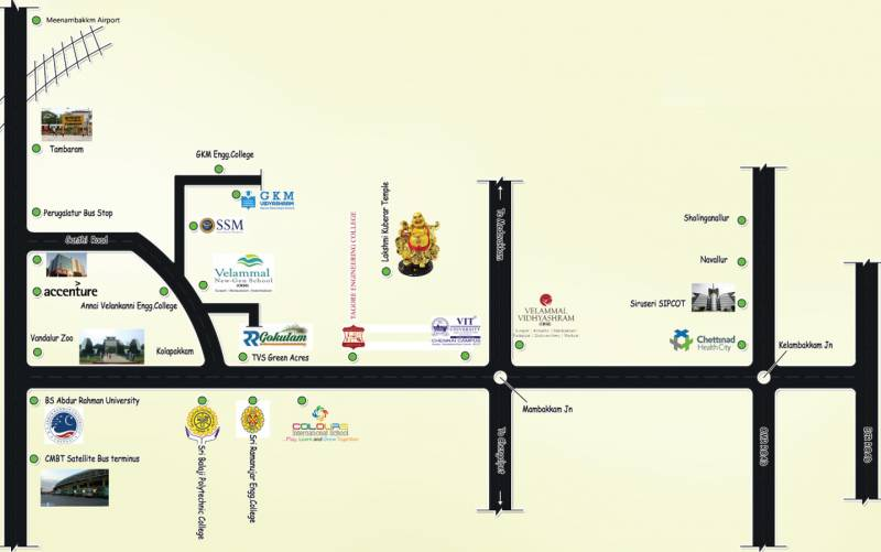 Images for Location Plan of RR Gokulam