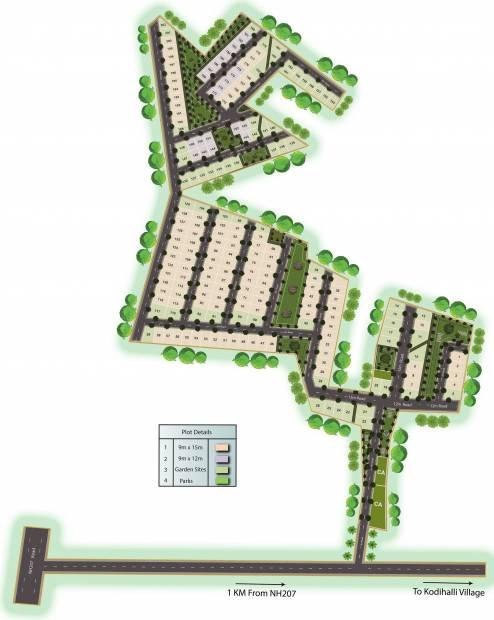 Images for Layout Plan of Shriram Bageshri