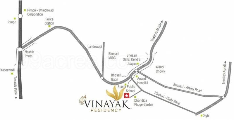 Images for Location Plan of Vinayak Residency