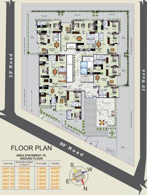 Images for Cluster Plan of Krish Eirianwen