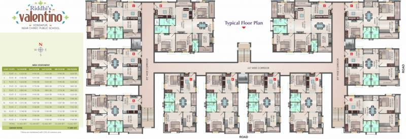 Images for Cluster Plan of Riddhi Riddhi Valentino