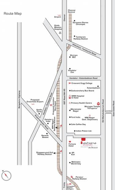 Images for Location Plan of Ashiana Shubham Phase III
