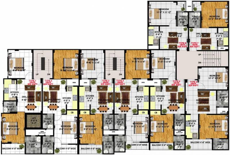 Images for Cluster Plan of Kritak Rzone Homes