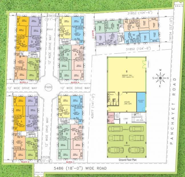 Images for Layout Plan of Chandrali Arcade