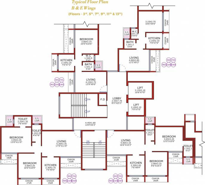 Images for Cluster Plan of Juhi Niharika Absolute