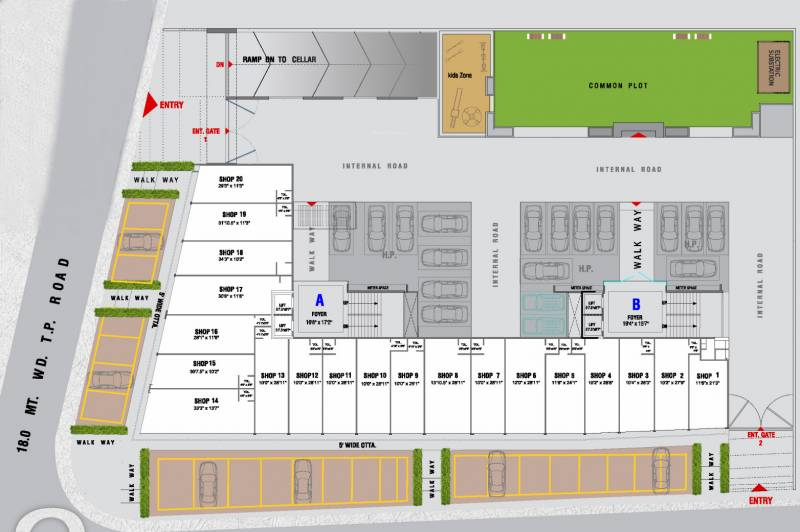 Images for Cluster Plan of Tirth Tirth 2