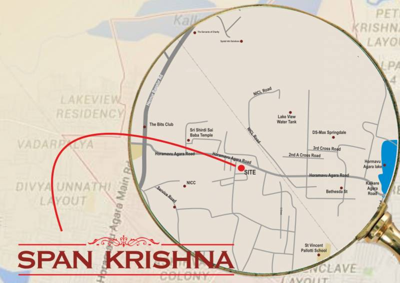 Images for Location Plan of Span Span Krishna
