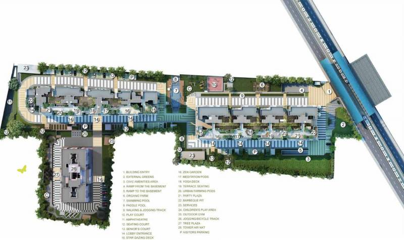 Images for Master Plan of Godrej Air Nxt