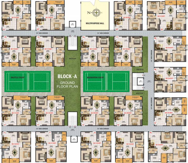 Images for Cluster Plan of Jayani Paradise