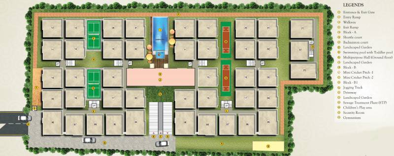 Images for Layout Plan of Jayani Paradise
